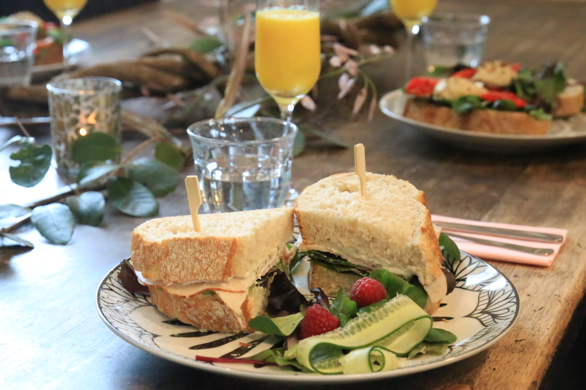Lunch 12.00 – 16.00 uur